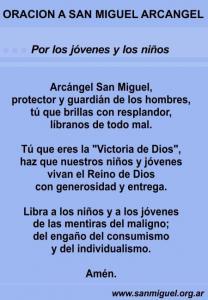 Oración por los jóvenes y los niños